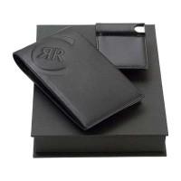Набор: портмоне, визитница с флеш-картой на 4 Гб