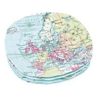Набор тарелок «Карта мира»