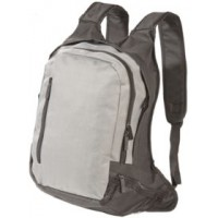 Рюкзак для ноутбука, серый с черным