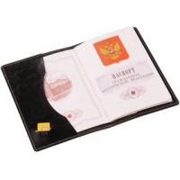 Обложка для паспорта «Cover» (черная)