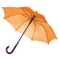 Зонт-трость «Unit Standard» , оранжевый