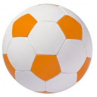 Мяч футбольный «Street» (бело-оранжевый)