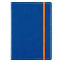 Блокнот Vivid Colors в мягкой обложке , голубой