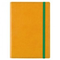 Блокнот «Vivid Colors» в мягкой обложке, желтый