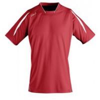Футболка спортивная «MARACANA 140» (красная с белым)