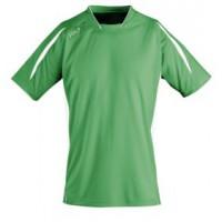 Футболка спортивная MARACANA 140 (зеленая с белым)