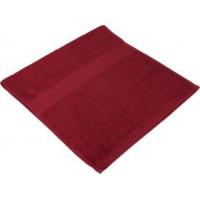 Полотенце махровое «Small» , бордовое