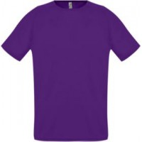 Футболка унисекс SPORTY 140 темно-фиолетовая