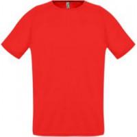 Футболка унисекс «SPORTY 140» (красная)