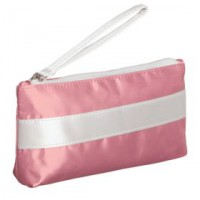 Пенал-косметичка Unit Weekender, розовый с белым
