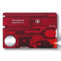 Набор инструментов «SwissCard Lite» (красный)