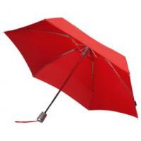 Зонт Alu Drop, 4 сложения, красный