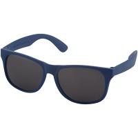 Солнцезащитные очки Retro - сплошные, ярко-синий