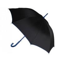 Зонт-трость полуавтоматический, синий