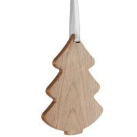 Деревянная подвеска Carving, в форме елочки