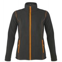 Куртка женская NOVA WOMEN 200, темно-серая с оранжевым, размер L