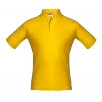 Рубашка поло Unit Virma, желтая, размер XL