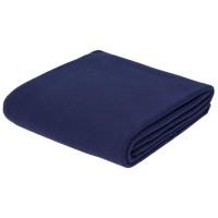 Флисовый плед Warm&Peace, синий