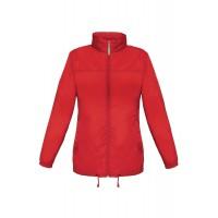 Ветровка женская Sirocco красная, размер L