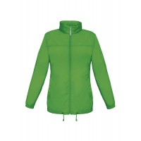 Ветровка женская Sirocco зеленое яблоко, размер L