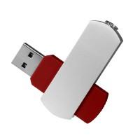 USB Флешка Portobello, Elegante, 16 Gb, Toshiba chip, Twist, 57x18x10 мм, красный