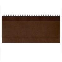 Недатированный планинг VELVET 794U(5496) 298x140 мм коричневый (ITALY)