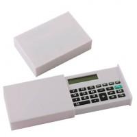Складной калькулятор в коробке, белый