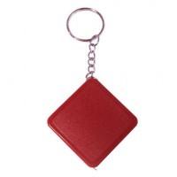 Брелок-рулетка, длина 1м, цвет красный