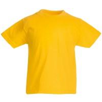 """Футболка детская """"Kids Original T"""", желтый, 9-11 лет, 100% х/б,  145 г/м2"""
