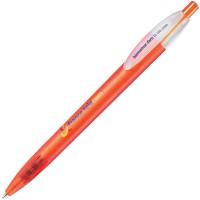 X-1 FROST, ручка шариковая, фростированный оранжевый, пластик
