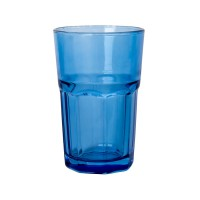 Стакан GLASS, синий, 320 мл, стекло