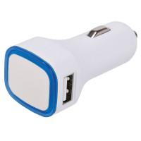 Автомобильное зарядное устройство с подсветкой и двумя USB-портами