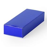Подарочная коробка для флешки  HALMER, синий, картон, 6 x 1,2 x 2,5 см