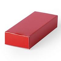 Подарочная коробка  для флешки HALMER, красный, картон, 6 x 1,2 x 2,5 см