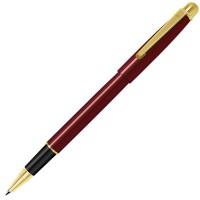 DELTA NEW, ручка-роллер, красный/золотистый, металл