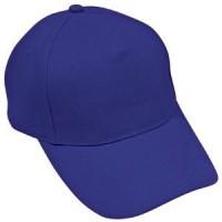 """Бейсболка """"Light"""", 5 клиньев,  застежка на липучке; ярко-синий; 100% хлопок; плотность 150 г/м2"""