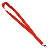 Ланъярд NECK, красный, полиэстер