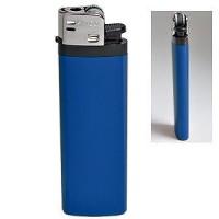 Зажигалка кремневая ISKRA, синяя, 8,18х2,53х1,05 см, пластик/тампопечать