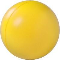 """Антистресс """"Мяч"""", желтый, D=6,3см, вспененный каучук"""
