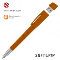 Ручка с флеш-картой USB 8GB «TURNUSsoftgrip M»